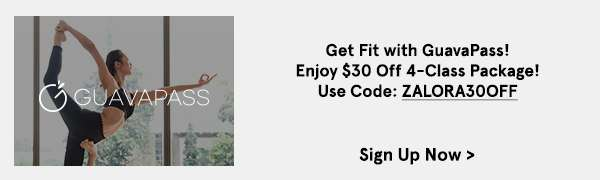 Get Fit with GuavaPass! Enjoy $30 Off 4-Class Package with code ZALORA30OFF