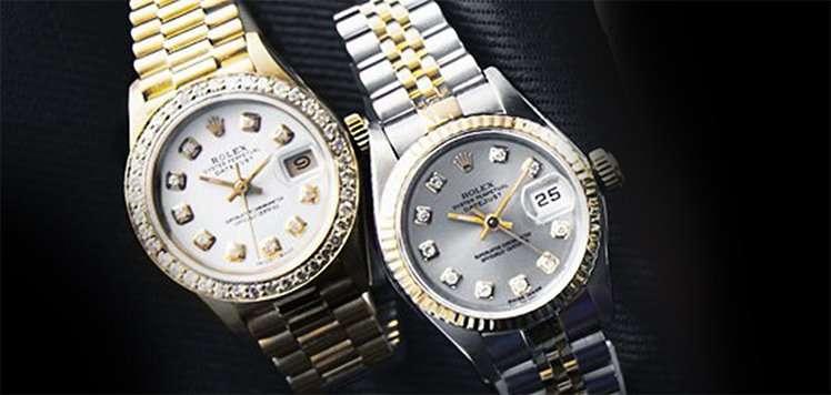 Vintage Rolex to Cartier
