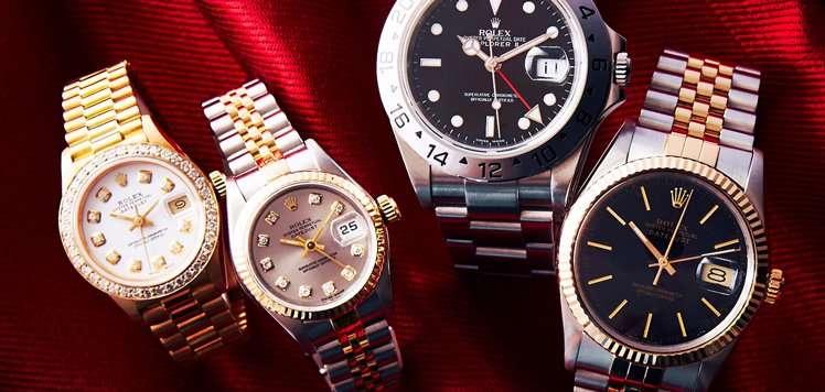 Vintage Rolex to Cartier for Men