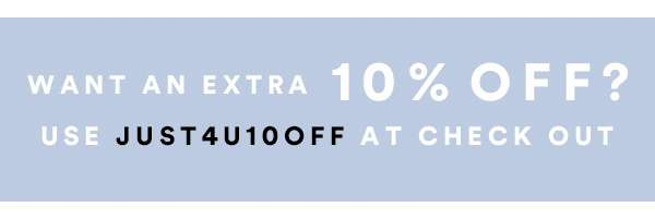 Singles Day - Want an extra 10% off? | Ends Tonight