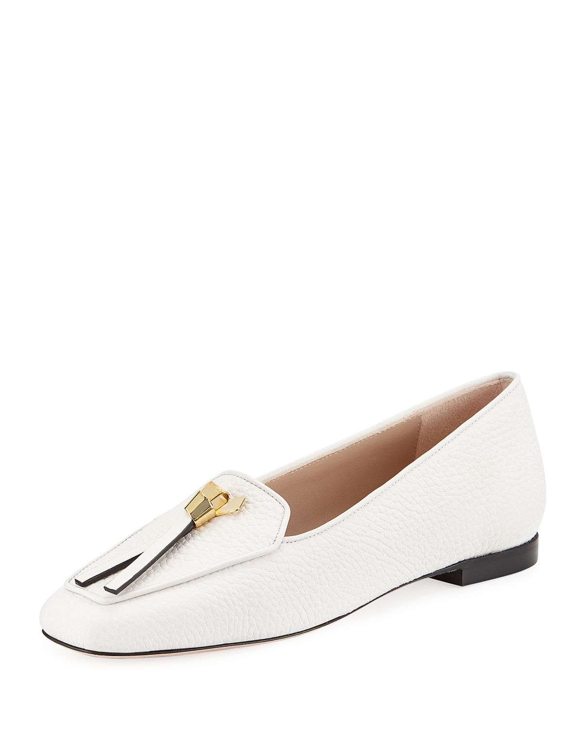 Slip-Knot Flat Loafers