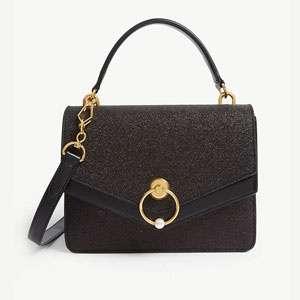 Harlow glittered satchel