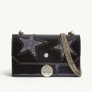 Finley patent leather cross-body bag