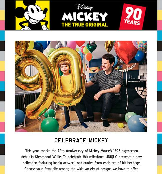 Celebrate Mickey Collection
