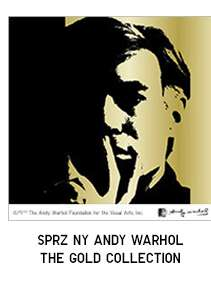 SPRZ NY Andy Warhol The Gold Collection