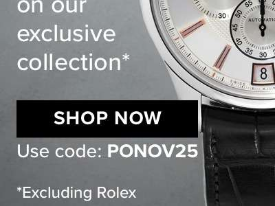 Pre-Owned Charm Take an extra 25% OFF on our exclusive collection SHOP NOW use code: PONOV25