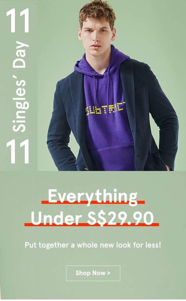 Everything Under S$29.90