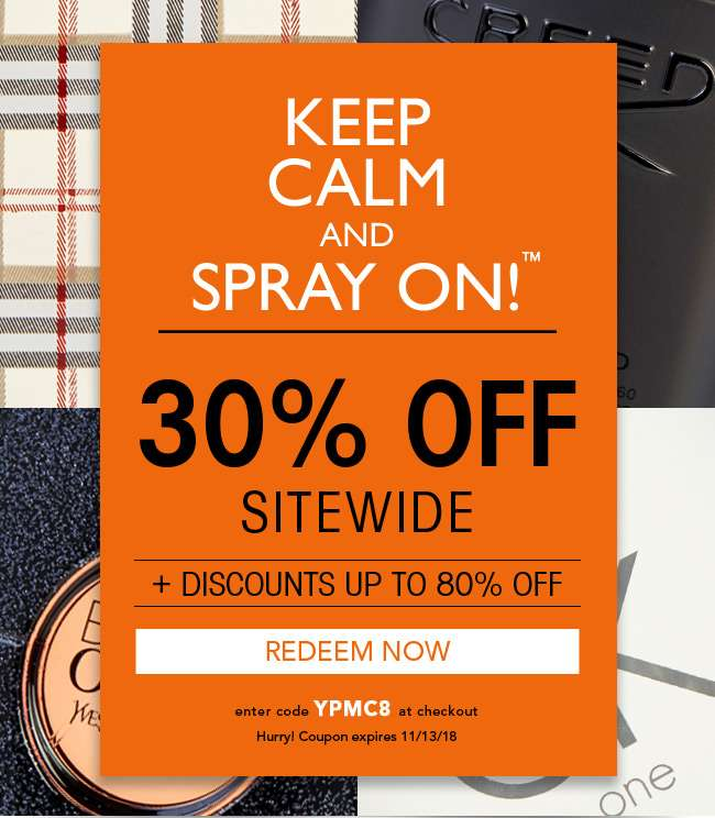 30% Off Sitewide + Discounts up to 80% off. Use code YPMC8. Expires 11/13/18