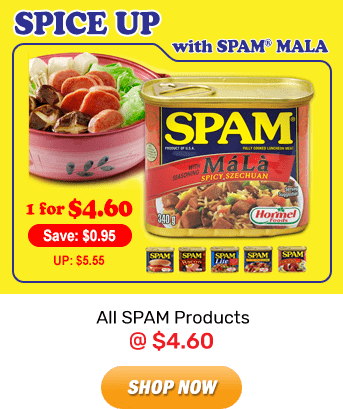 SPAM: All SPAM Products @ $4.60. Shop Now!