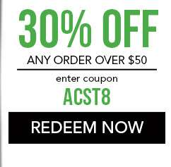 30% off any order over $50. use code: ACST8. Expires 11/16/18