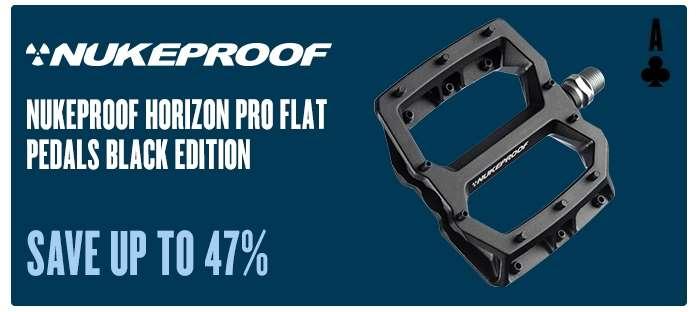 Nukeproof Horizon Pro Flat Pedals Black Edition