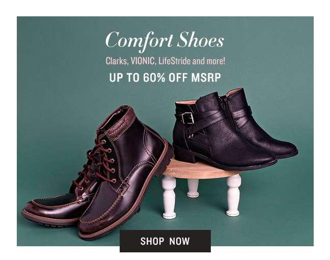 Shop Comfort Shoes