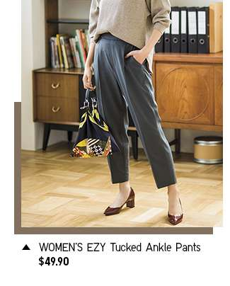 Shop Women's EZY Tucked Ankle Pants at $49.90