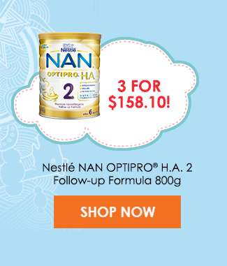 Nestlé NAN OPTIPRO® H.A. 2 Follow-up Formula 800g (3 for $158.10)