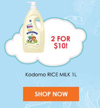 Kodomo KODOMO RICE MILK 1L (2 for $10)