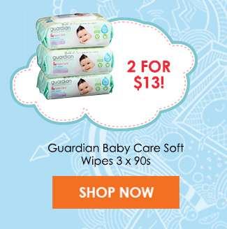 Guardian Baby Care Soft Wipes (2 for $13)