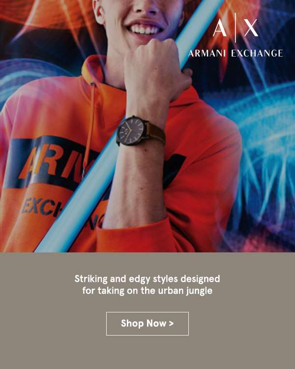 New on ZALORA: Armani Exchange