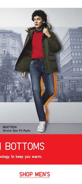 Shop Men's HEATTECH Bottoms