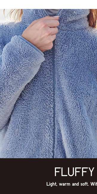 Women's Fluffy Fleece Jacket