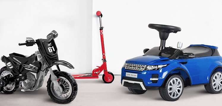 Ride-On Cars & More Big Toys