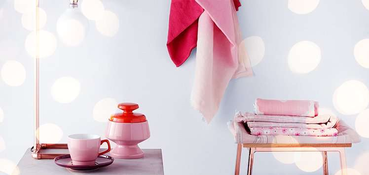 Decorate With Pink & Copper