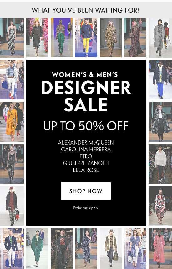 Shop Designer Sale