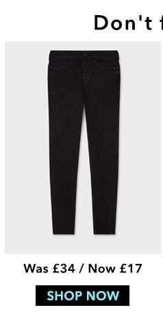 Black Push Up Jeans