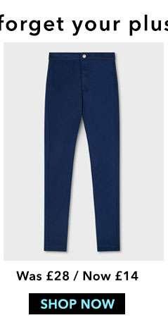 STEFFI Super High Waist Blue Jeans