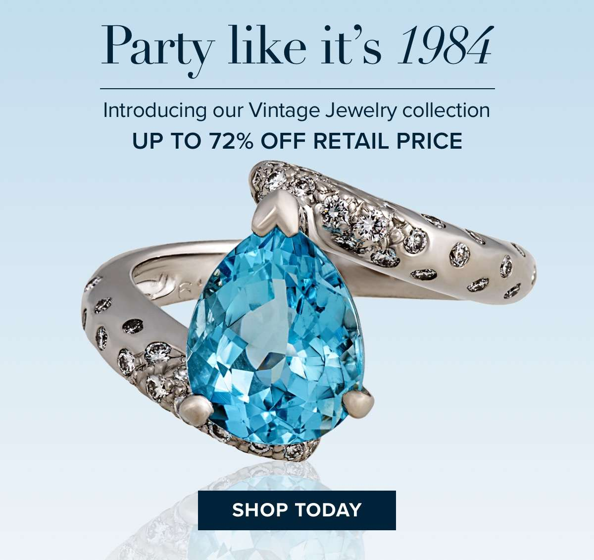 Vintage jewelry - up to 72% off retail price