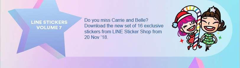 #313BFFNOMATTER What Line Stickers Volume 7