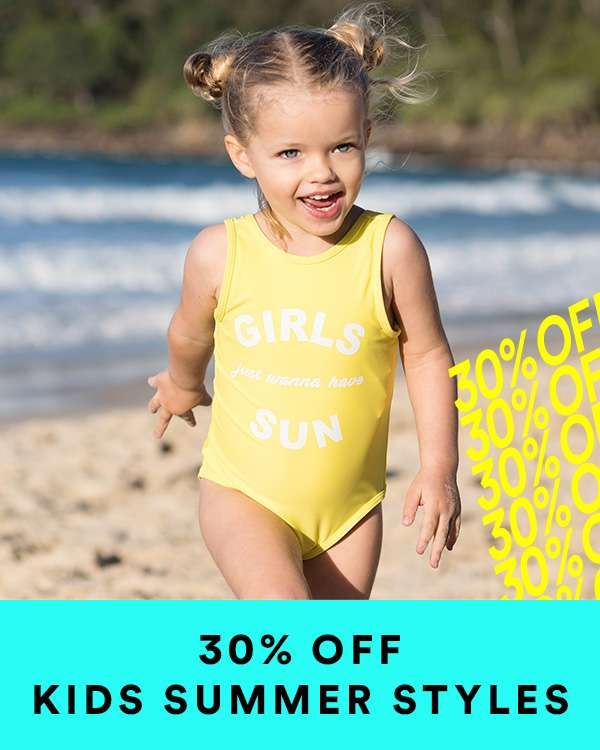 ONE DAY ONLY - 30% OFF - SHOP KIDS