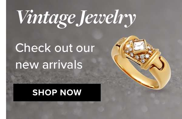 Vintage jewelry check out our new arrivals SHOP NOW
