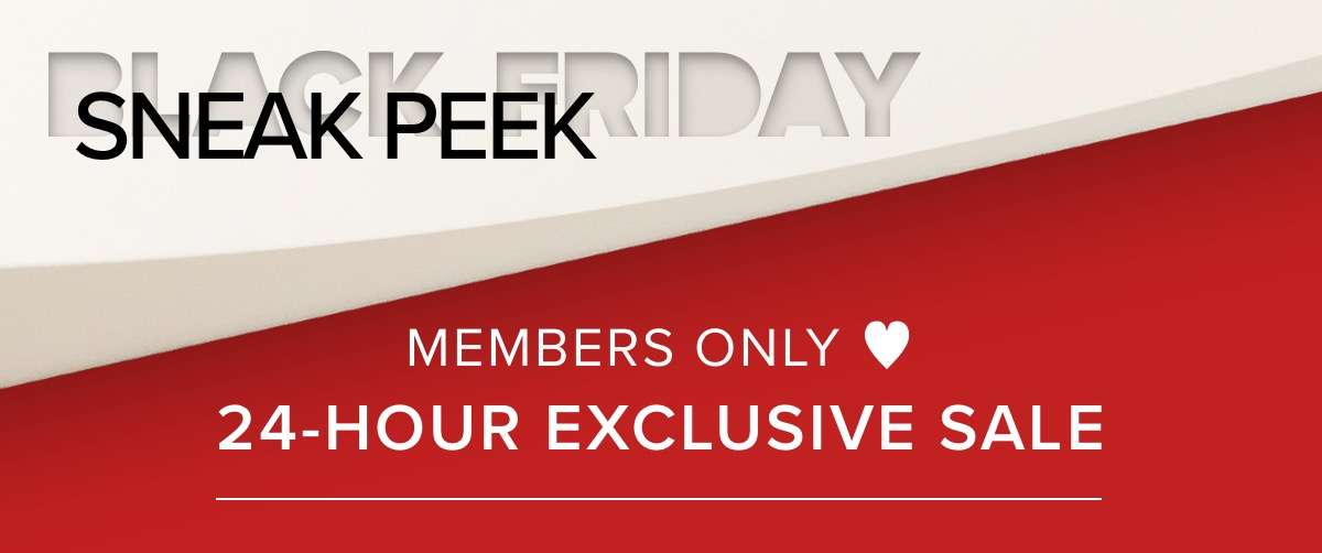 Member Only ♥ 24 hours exclusive sale