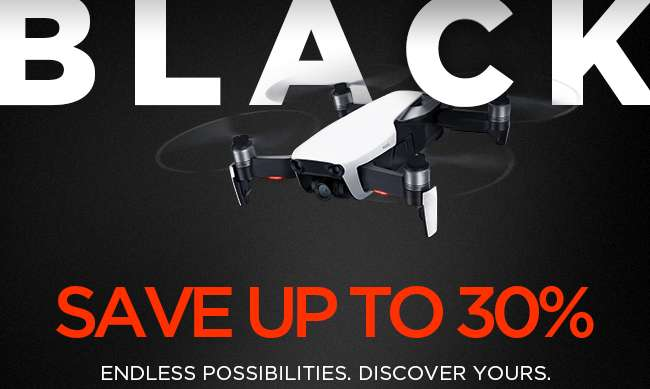 The DJI 2018 Black Friday Sale is Live!