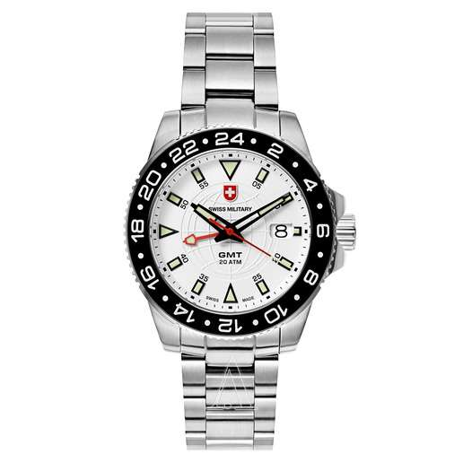 Men's Swiss Military GMT Watch