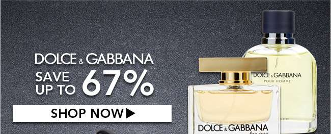 Dolce & Gabbana. Save up to 67%. Shop Now