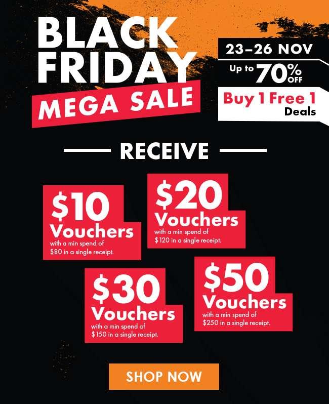 Shop Black Friday Mega Sale now!