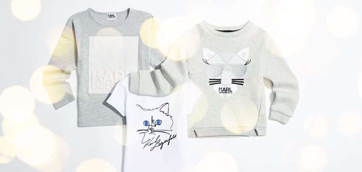 Chic Kids' Clothes With KARL LAGERFELD