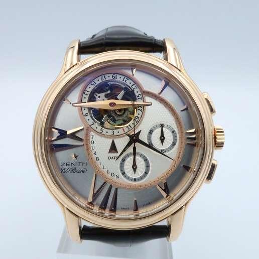 Men's Zenith Academy Tourbillon Chronograph Watch