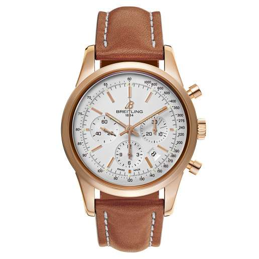 Men's Breitling Transocean Chronograph Watch