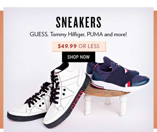 Shop $49.99 or Less Sneakers