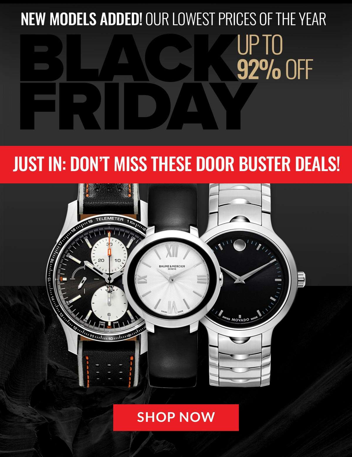 Just In: Don't Miss These DOORBUSTER DEALS!