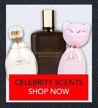 Shop Celebrity Scents Specials