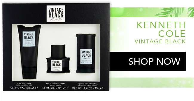 Shop Kenneth Cole Vintage Black