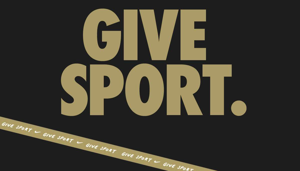 GIVE SPORT.