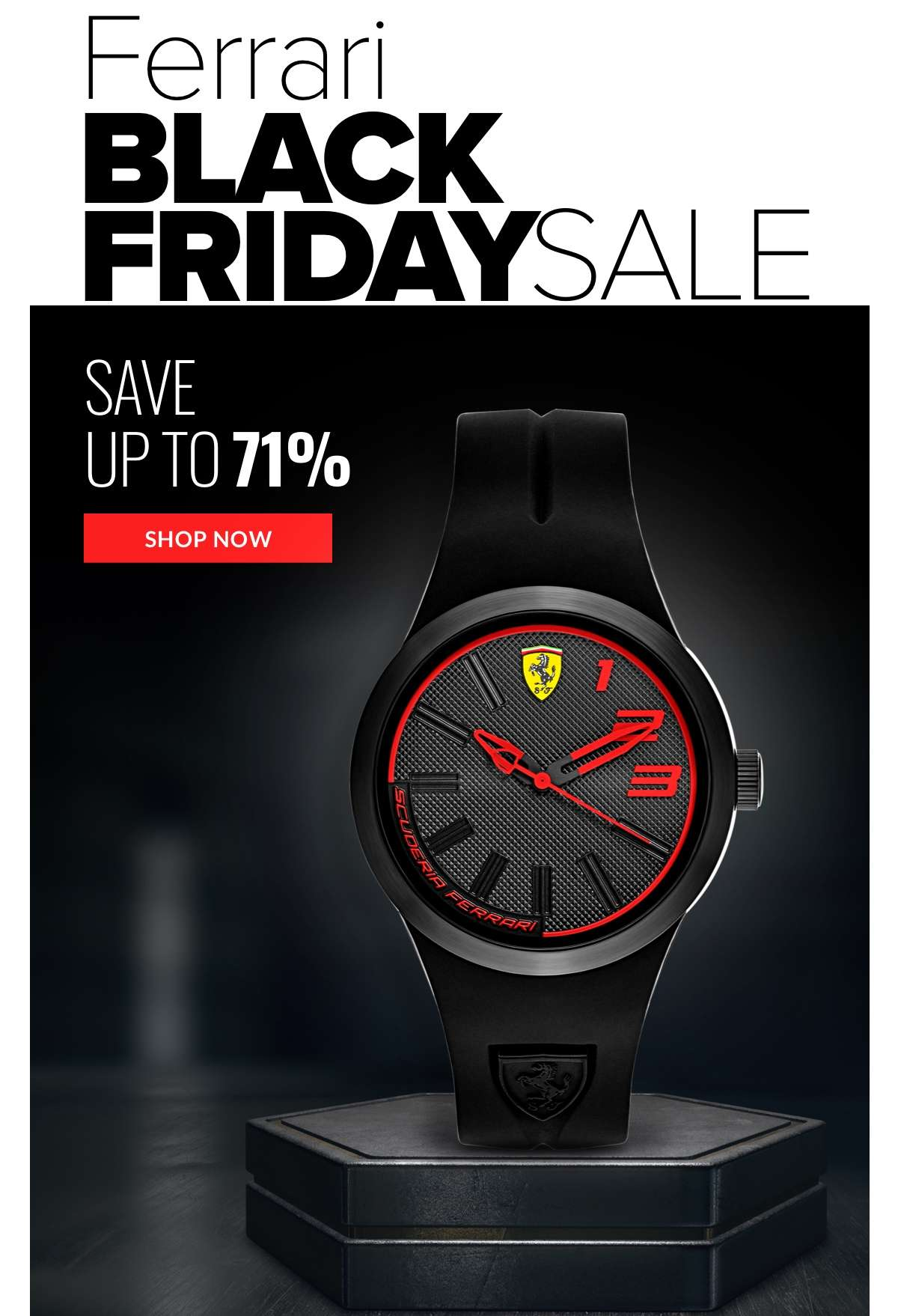 Ferrari Black Friday Sale Save up to 71% SHOP NOW