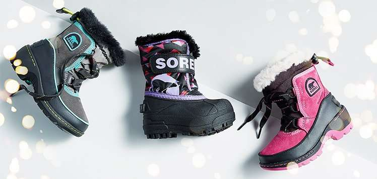 Toasty Kids' Boots With SOREL