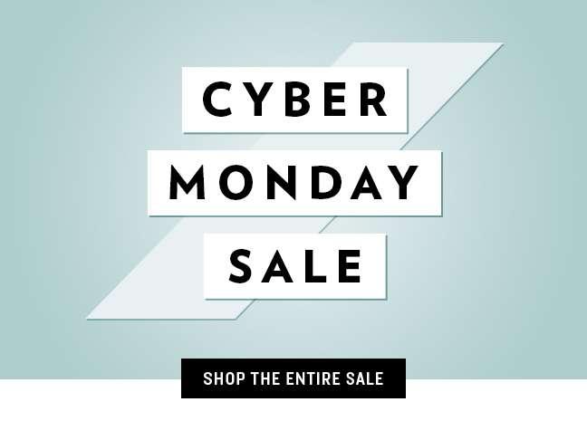 Shop Cyber Monday Sale