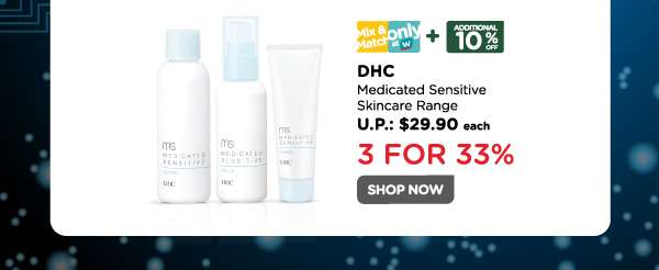 DHC Medicated Sensitive Skincare