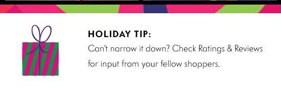 Holiday Tip